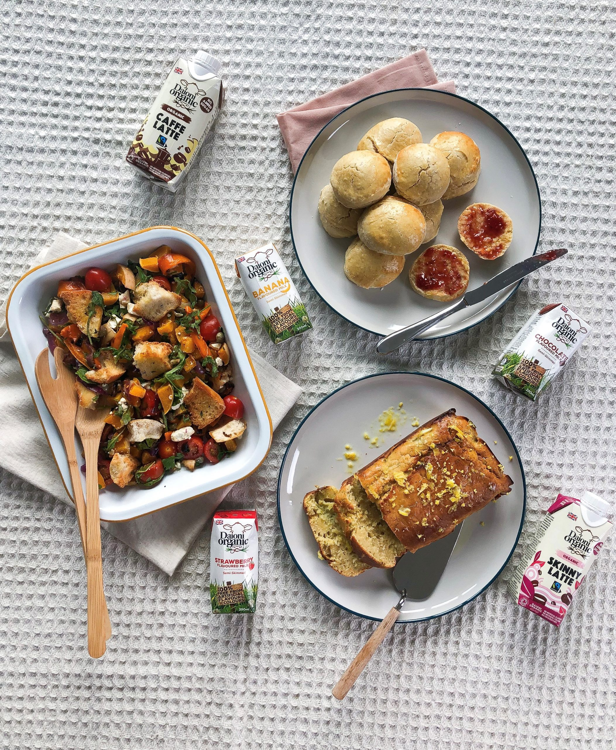 Daioni Organic Lemon & Courgette Loaf Cake